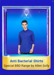 Allen Solly anti bacterial shirts