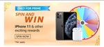 Amazon spin and win iPhone 11 and other exciting prizes