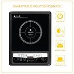 Singer Venus 1400-Watt Induction Cooktop (Black)