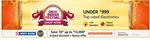 Great Indian Sale - Under Rs.999 Store + Extra Coupons