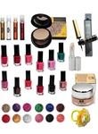 Makeup Beauty Parlour Style Complete Combo Pack Of 33 (33 It... more