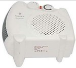 Qraftink Vertically Or Horizontally Room Heater Fan Room Heater