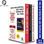 Most Popular Books to Achieve Success and Build a Fortune (Set of 4 Books)