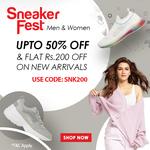 Bata Sneaker Fest: Upto 70% Off On Footwear & Flat Rs 200 off on New Arrivals