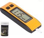 Control D Glucose Blood Sugar testing Monitor Machine with 25 Strips Glucometer  (Orange, Black) @ 449