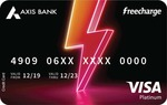 Apply for FreeCharge Axis Bank Credit Card and Get 3 Months of Amazon Prime + (Rs.500 Freecharge Cashback)