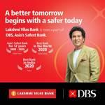 DBS retains Lakshmi Vilas Bank's name, logo