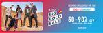 (Last Day) Ajio Big Bold Sale  - 50% to 90% Off