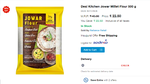 Desi Kitchen Jowar Millet Flour 500 g