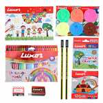 Luxor Kids Play from Home Combo Set (Crayons)