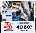 Lifestyle Flash Sale | Flat 40- 60% off on Watches and Sunglasses at duty free prices + Extra 10% off via ICICI cards
