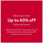 H & M Sale   Upto 60% Off on Clothing and Accessories