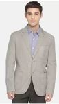 U.S. Polo Assn.  Solid Single Breasted Casual Men Full Sleeve Blazer  (Grey) Special price