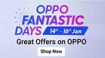 OPPO Fantastic Days + 10% off on AU Bank Debit Cards | 14-16 Jan