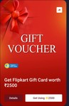 Flipkart Voucher Available