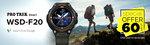 Casio Outdoor (Pro Trek) WSD-F20A-GNBAD-IN (SW005) Smart Watch - 60% OFF Special Offer