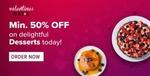 Swiggy Valentines Days - Min 50% off on Desserts/Pizza - location specific