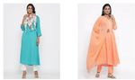 Women Printed Kurta with Palazzos Up to 90% Off Starts 499