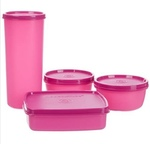 Signoraware Best Jumbo Lunch with Bag, Pink