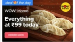Buy Anything @Rs 99 Only from Wow Momos