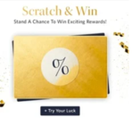 Myntra : Scratch and Win Surprise Offer  & Get Double Coupon Discount Single Order