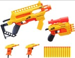 Nerf Alpha Strike Infantry Pack, 24-Piece Set Includes 4 Blasters and 20 Official Elite Darts, for Kids, Teens, Adults