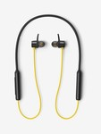 realme Buds Wireless Bluetooth Neckband (Black And Yellow)