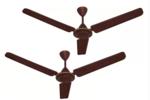 Kenstar Aria Plus 1200 mm Ultra High Speed 3 Blade Ceiling Fan  (Brown, Pack of 2)