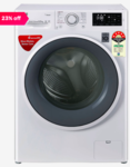 LG 6.5 Kg Inverter Fully Automatic Front Load Washing Machine (FHT1265ZNW, Blue White)