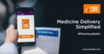 Medlife -Effectively 27% off on Prescribed medicines(15% off + Rs150 off on min Rs1299)(all users)