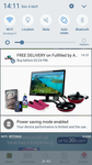 Amazon free delivery on Amazon fulfilled items