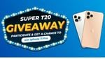 Supersmelly Super T20 Giveaway Participate & Get A Chance To Win iPhone 11 Pro