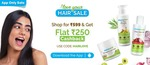 Mamaearth Love Your Hair Sale Flat 250 Cashback On Orders Above 599 ( valid only on app)