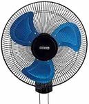usha Colossus Rust Free Aluminium Blade 400mm Wall Fan (Blue)