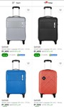 Safari trolley upto 82% off + instant discount 5% on credit card and debit card starting@ ₹1499