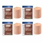 safent SAFE0057-SET-4 Cotton High Elastic Bandage - 2 Inch - (5Cm*4.5M) (Set of 4) (Beige)
