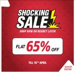 Brand Factory Shocking Sale Flat 65% Off on Branded Clothing Till 18th April