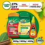 Zandu Immunity Kit- Kesari Jivan (900g) + Zandu Chyavanprashad (900g) + Zandu Honey (400g)