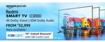 Redmi Smart TVs X Series Starting ₹32,999 + 10% SBI CC off