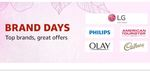 Amazon Brand Days - LG, Cadbury & More Famous Brands With Great Offer Up to 40% Off