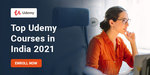 Top Paid 7 Udemy Online Courses in India 2021