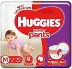 Huggies & diapers upto 30% off
