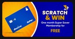Today Dhani Scratch Card Offer - Do one Transaction from One Freedom Card and Unlock Free Super Saver Plan