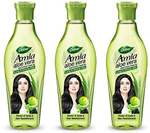 Dabur Amla Aloe Vera Non Sticky Hair Oil - 200ml (Pack Of 3)