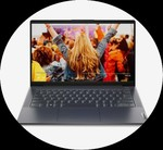 Lenovo IdeaPad Slim 5 Laptop 81YM002TIN Ryzen 7 4700U 8GB 512GBSSD 14 inch W10+MSO INT Graphics Grey