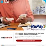 RedGirraffe - Pay Rent/School fees using RuPay card & Earn Amazon gv, Flipkart gv and other gv