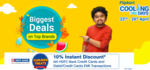 Last Day Flipkart Cooling Days -  Upto 50% off + 10% Instant Discount With HDFC Cards