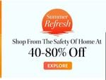 Myntra Super Summer Sale [24-28 April ]- Up to 80% Off + 10 % Discount On Axis Cards