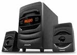 (Renewed) Philips MMS2625B 2.1 CH Bluetooth Multimedia Speakers