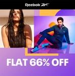 Reebok Sale Flat 66% Off On Men's & Women's Clothing